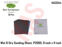 Sonbateh Wetordry Sheet, P2000A Grit, 9 in x ...