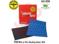 Sonbateh Wetordry Sheet, P400A Grit, 9 in x 1...