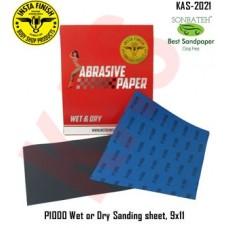 Sonbateh Wetordry Sheet, P1000A Grit, 9 ...