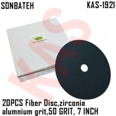 Sonbateh Green Fibre Disc, 50 grade, 7 i...