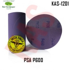 Sonbateh Ceramic Purple Film Glue Back Production Disc, 6 inches, 600 Grit, 100Pes, KAS-1201