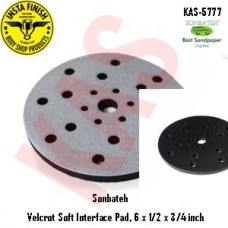 Sonbateh Velcro Soft Interface Pad, 6 x 1/2 x 1 inch, KAS-5777