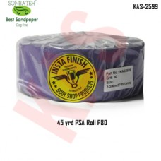 Sonbateh Ceramic Purple Back Film Sheet Roll, 80 Grit PSA, 2 3/4 in x 45 yd, KAS-2599