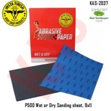 Sonbateh Wetordry Sheet, P500A Grit, 9 i...