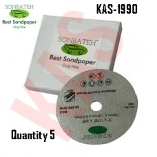 Sonbateh White Ceramic Cut-Off Wheel, 3 ...