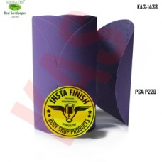 Sonbateh Ceramic purple Film Glue Back Production Disc, 6 inches, 220 Grit, 100Pes, KAS-1438