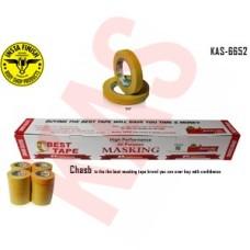 Chasb Yellow Automotive Refinish Masking Tape, 3/4