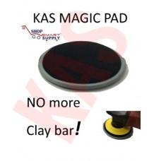 "KAS New Skin 6"" SCRUBBER Pad, NO More Clay Bar, KASMAGICPAD"
