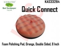 Sonbateh Orange Foam Compounding Pad, Quick C...