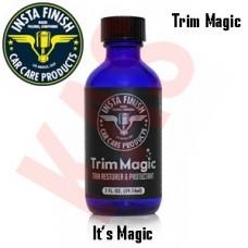 Insta Finish Trim Magic - Trim Restorer is a revolutionary product used by professionals, 2oz, Trim Magic