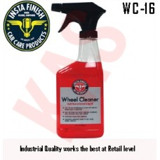 Insta Finish Wheel Cleaner, Shine and clean wheels, 16oz, WC-16