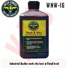 Insta Finish Wash N Wax, The best carwash soap & wax combined,16oz, WNW-16