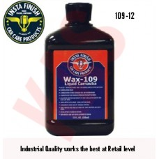 Insta Finish Wax 109, Hand Wax, 12oz, 10...