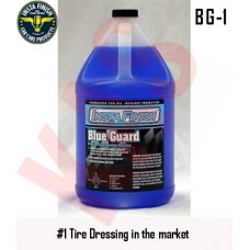 Insta Finish Blue Guard dressing with High gloss shine that will not wash off, (Better than Armor all) 1Gallon, BG-1