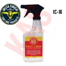 Insta Finish Interior and Leather Cleaner, 16oz Spray Bottle, IC-16