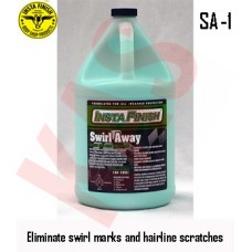 Insta Finish Swirl Away, Hand or machine use, 1 Gallon, SA-1