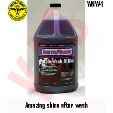 Insta Finish Wash N Wax, The best carwash soap & wax combined, 5G, WNW-5