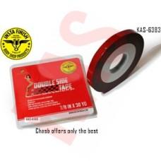Instafinish Chasb Acrylic Attachment Tape,7/8inx30 yd, Gray, KAS-6383