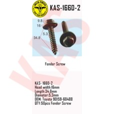 Insta Finish Fender Screw for Toyota, He...