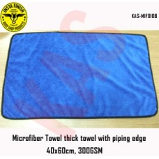 Microfiber thick towel with piping edge,...