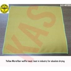 Microfiber waffle towel 40x40cm, 300gsm,...