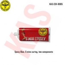 Chasb  Epoxy Glue, 5 mins curing, two components, color clear, 50ml package, KAS-CEX-8005