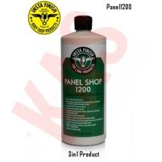 Insta Finish Panel Shop 1200 Fine Duty 3 in 1 Rubbing Polishing Glazing Compound, 1G,  Panel1200G