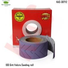 Sonbateh Dust free Ceramic Purple Back Film Velcro Sheet Roll, 100 Grit, 13.12 yd, Purple, KAS-30712