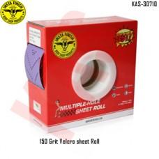 Sonbateh Dust free Ceramic Purple Back Film Velcro Sheet Roll, 150 Grit, 13.12 yd, Purple, KAS-30710