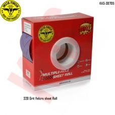 Sonbateh Dust free Ceramic Purple Back Film Velcro Sheet Roll, 320 Grit, 13.12 yd, Purple, KAS-30705