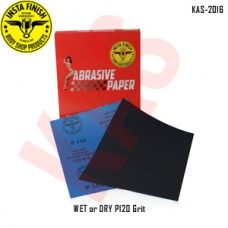 Sonbateh Wetordry Sheet, P120A Grit, 9 i...
