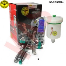 Instafinish full-size HVLP spray gun, 1....