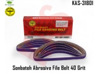 Sonbateh Ceramic Purple Abrasive File Belt 1/...