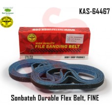 Sonbateh Durable Nylon Flex Belt, 1/2 in x 18 in, Set of 10, Fine, Blue in color, KAS-64467