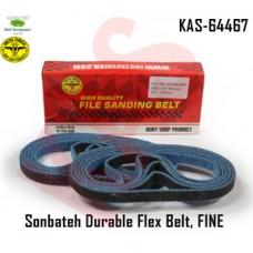 Sonbateh Durable Nylon Flex Belt, 1/2 in x 18 in, Set of 10, Fine, Blue in color, KAS-64467