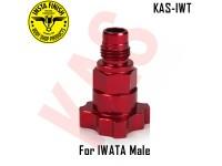 Instafinish Adaptor for IWATA guns, Male Thre...
