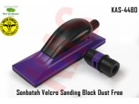 Sonbateh Purple Velcro Sanding Block Dust Fre...