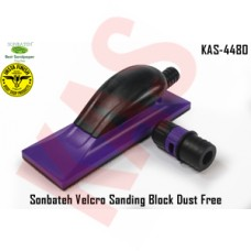Sonbateh Purple Velcro Sanding Block Dus...