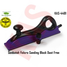 Sonbateh Purple Velcro Sanding Block Dust Free, 70*400mm, KAS-4481