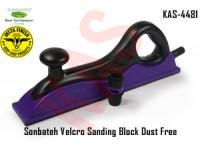 Sonbateh Purple Velcro Sanding Block Dust Fre...