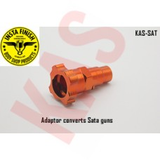 Instafinish Adapter 4 Sata spray guns, Color Orange, Male Thread, KAS-SAT