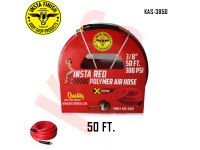 "Instafinish Red 3/8"" x 50FT Hybrid Polymer Ai..."