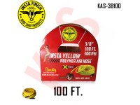 "Instafinish Yellow 3/8"" x 100FT Hybrid Polyme..."