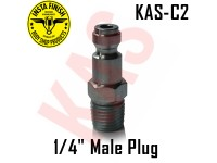 "Instafinish C2 1/4"" NPT Male Quick Type ..."