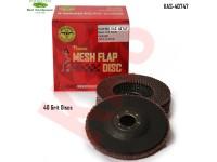 Sonbateh Flap Discs, 40 Grit, 5 Discs per box...