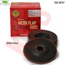 Sonbateh Flap Discs, 40 Grit, 5 Discs pe...