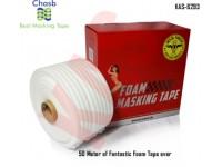 Chasb Soft Edge Foam Masking Tape, 50Meters, ...