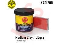 Instafinish Medium Clay Bar, Color Red, 100g,...