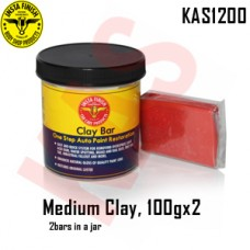 Instafinish Medium Clay Bar, Color Red, ...