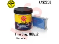 Instafinish FineClay Bar, Color Blue, 100g, 2...